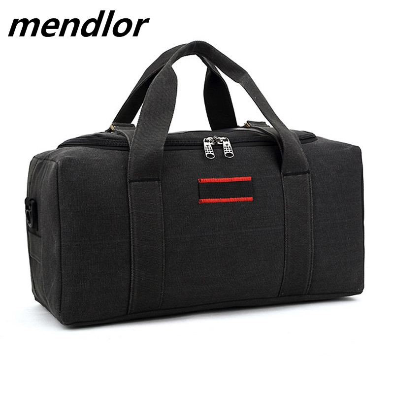 2018 Canvas Travel Bag Weekend Bag Large Capacity Overnight Bag shoulder Men Waterproof messenger bags Women Travel Tote