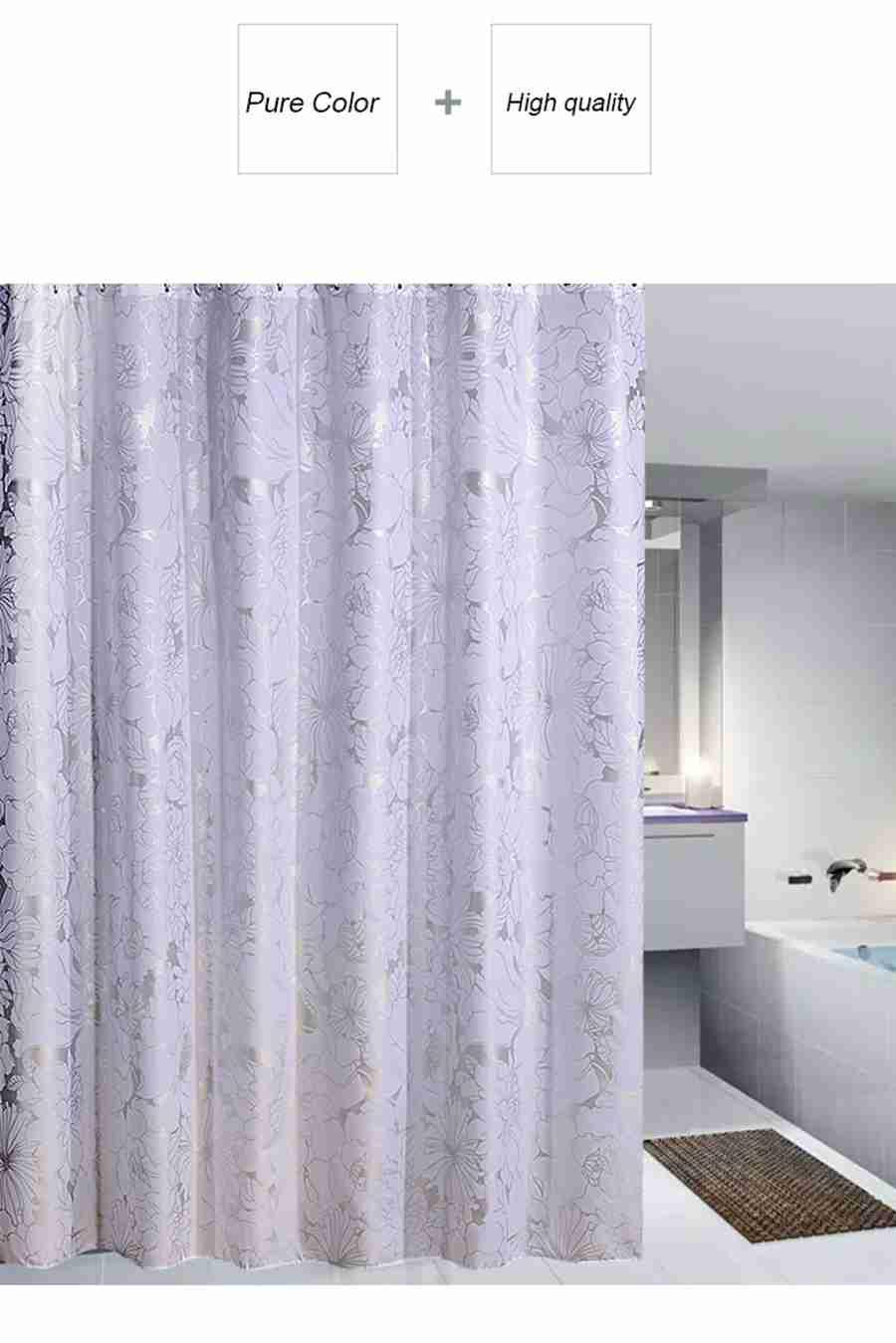 Waterproof Shower Curtain 1 Bath For Bathroom 2