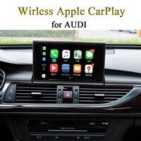 Беспроводной CarPlay для AUDI A4 8E MMI 3g оригинальный Экран Системы поделиться gps Телефонный звонок музыку с iPhone напрямую