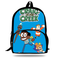 16 Inch Hot Children craig of the creek Backpacks For School Boys Girls Anime Backpack For Kids Students