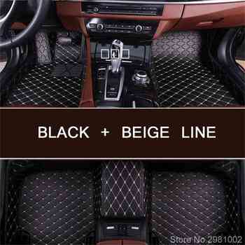 foot case car floor mats for BMW 3 series E90 E91 E92 E93 318d 320d 320i 325i 328i 325D 330d 335D 330i 335i rugs liner image
