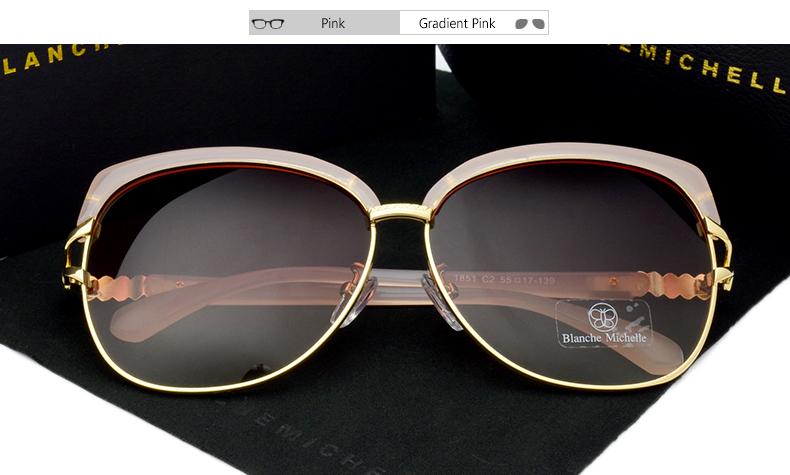 HTB1dgJpXLNZWeJjSZFpq6xjBFXa4 - Blanche Michelle 2018 High Quality Square Polarized Sunglasses Women Brand Designer UV400 Sun Glasses Gradient Sunglass With Box