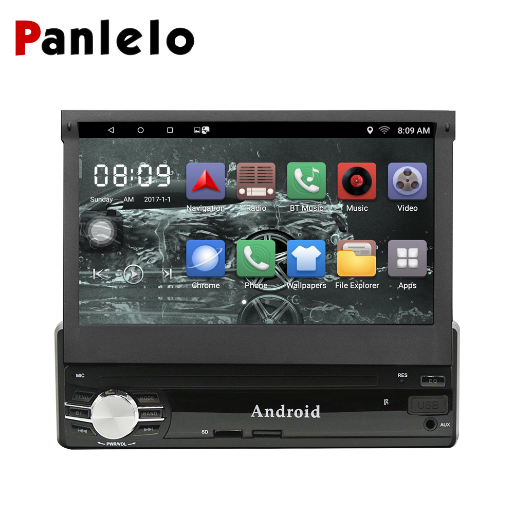 Panlelo T1 1 Din Android 8.1 / 6.0 Car Multimedia 7 Inch Quad Core 1G16G/ 2G16G Car Styling Autoradio Car Audio Player Bluetooth-in Car Multimedia Player from Automobiles & Motorcycles    1