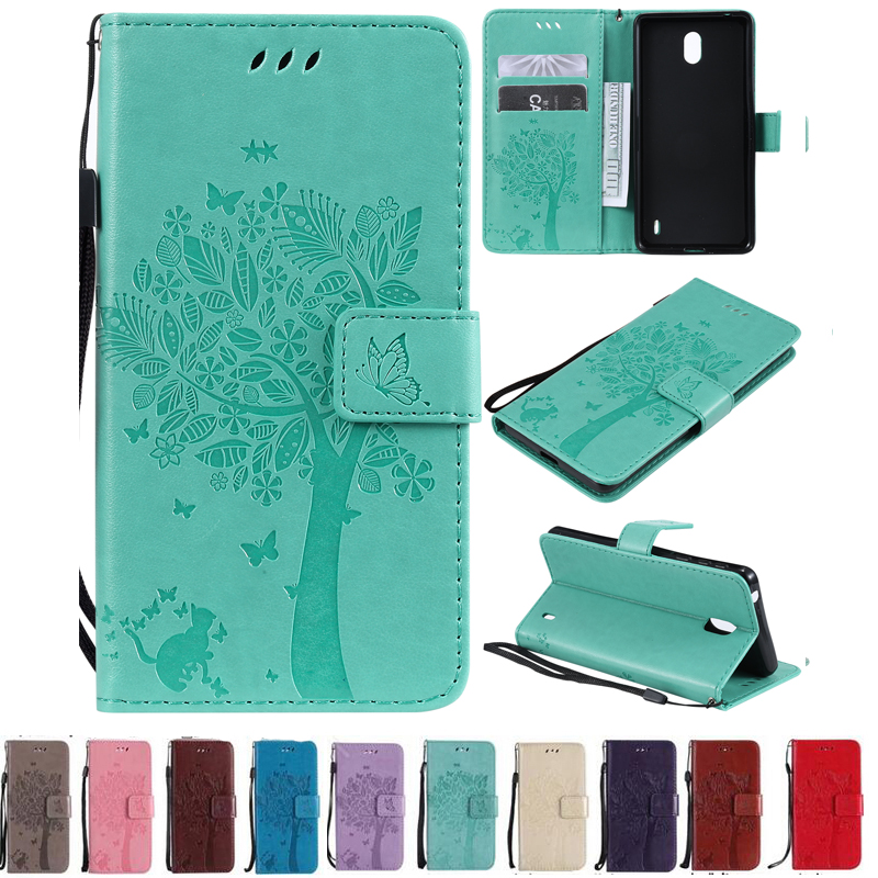 For <font><b>Nokia</b></font> <font><b>1</b></font> 2018 <font><b>TA</b></font>-1066 <font><b>TA</b></font>-1047 Case 3D Cat Tree Patterns Flip PU Leather CaseFor <font><b>Nokia</b></font> <font><b>1</b></font> <font><b>Plus</b></font> <font><b>TA</b></font>-1111 <font><b>TA</b></font>-1123 <font><b>TA</b></font>-1127 <font><b>TA</b></font>-<font><b>1130</b></font> image