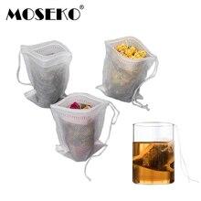 MOSEKO Tea bags 100Pcs/Lot 5.5 x 7CM Empty Tea Bags With Str