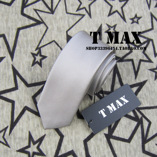 T max champagne color narrow version tie male 5.5cm tie formal casual married commercial tie