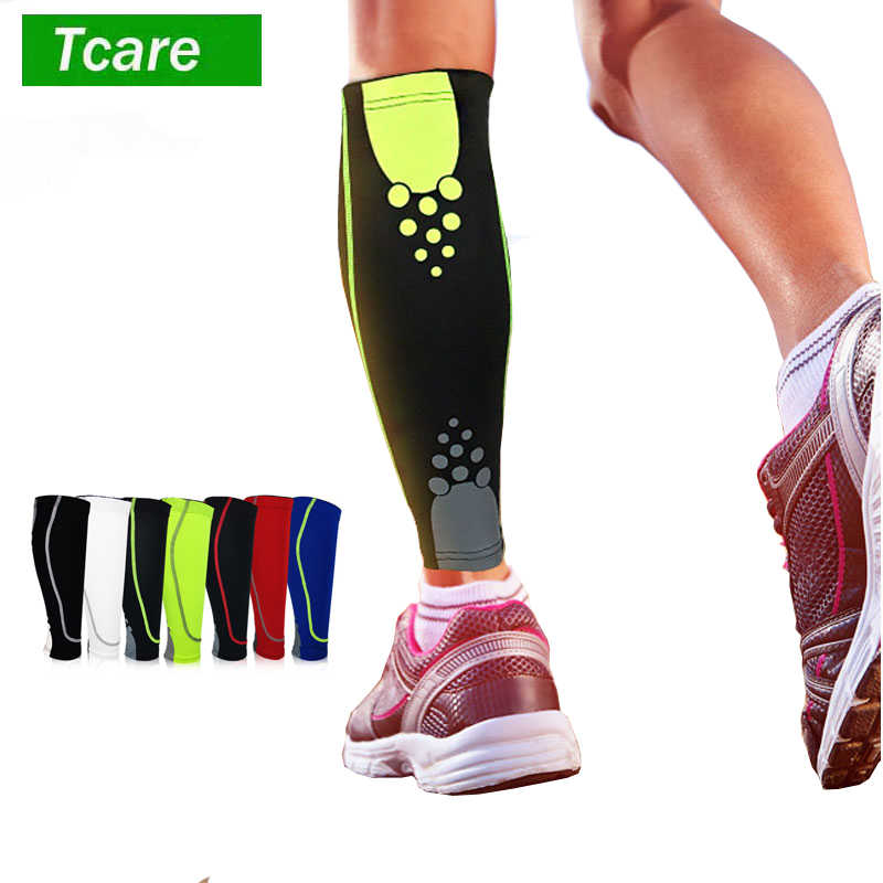 4e3f0c42e0 1Pcs Calf Compression Sleeve Shin Splint Leg Compression Socks for Men &  Women Running Cycling Support