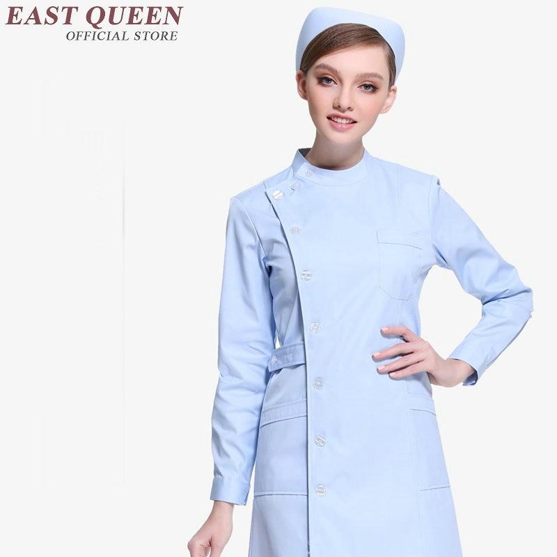 Hospital nurse medical clothing uniforms for nurses white nurse uniform design 2017 new design medical gowns KK168