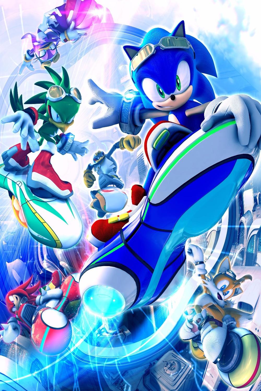 Custom Sonic The Hedgehog 5 Home Decor Poster Creative