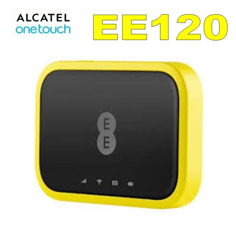 Unlocked New Alcatel EE120 Cat 12 600Mbps Portable 4G LTE Mobile WiFi Hotspot Modem 4GEE WIFI