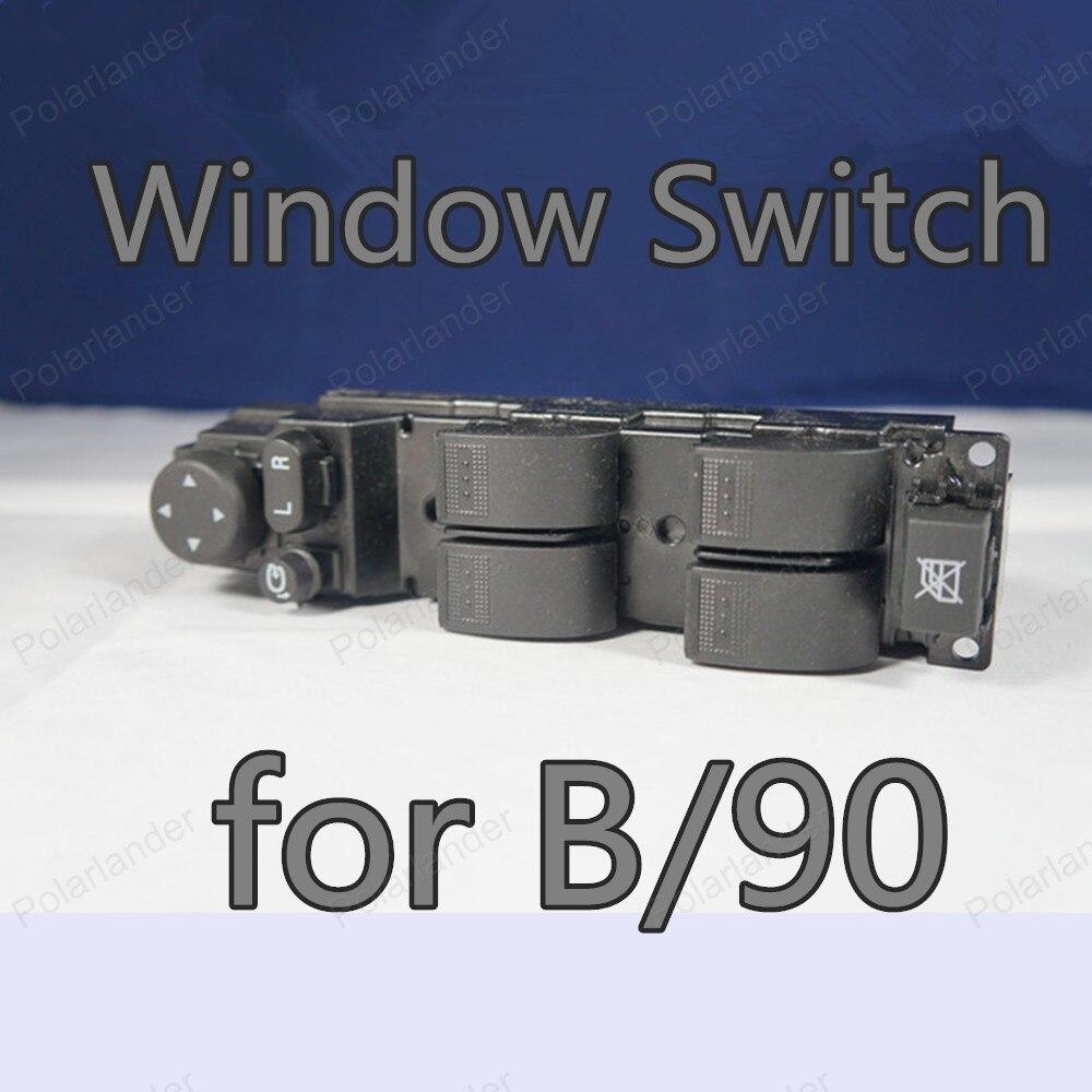 Bonne qualité pour interrupteur de levage de fenêtre B/90 5AA0-66350 commutateur de fenêtre électronique principal de porte avant gauche