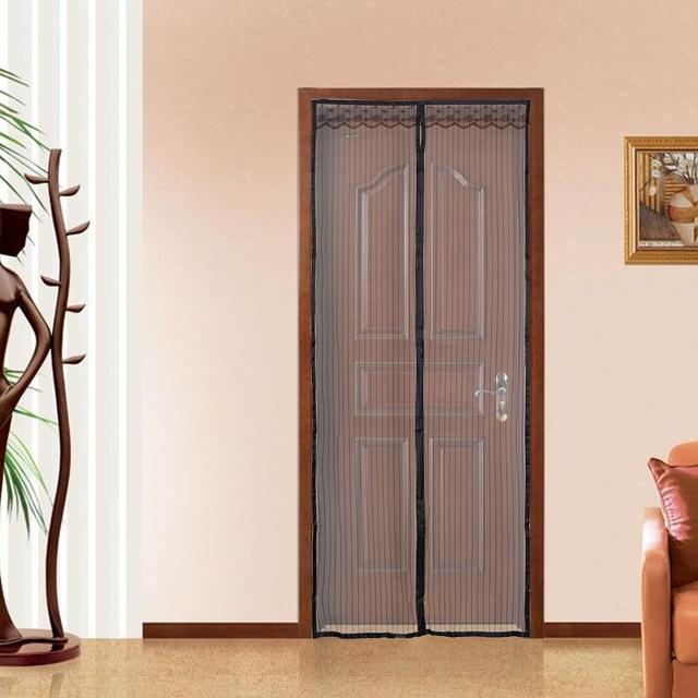 Adeeing Upgraded 100*210cm Hands-Free Magnetic Screen Door Anti Mosquito Net Curtains & Adeeing Upgraded 100*210cm Hands Free Magnetic Screen Door Anti Mosquito Net Curtains Fly Insect Stopping Mesh Screen-in Window Screens from Home u0026 ...