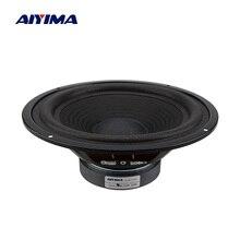 AIYIMA 8 дюймов НЧ-динамик сабвуфер динамик 4 Ом 150 вт DIY музыка звук динамик s Колонка Громкий динамик для звуковой системы