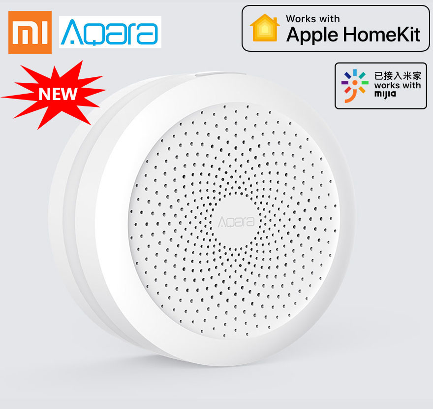 xiaomi aqara hub gateway2 2018 newest work with humanbody sensor homekit MIhome redmi note 6 pro