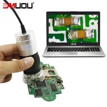 Discount! Handheld Digital Microscope USB Electron Magnifier Full Metal Scale Measurement 8 groups LED head Mobile phone watch repair