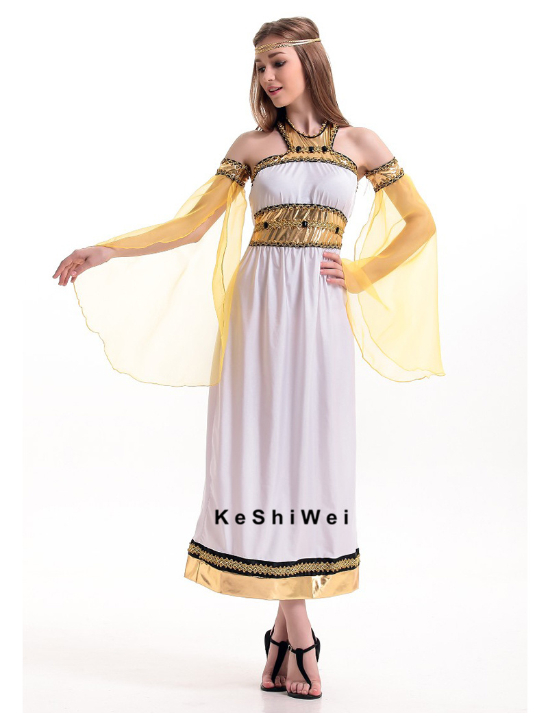 May 25, · Wear a tunic. Solid white linen tunics were a very common garment worn by both Egyptian men and Egyptian women for everyday wear. You can find the tunics at costume shops, medieval collectible shops, Amazon, and eBay%(83).