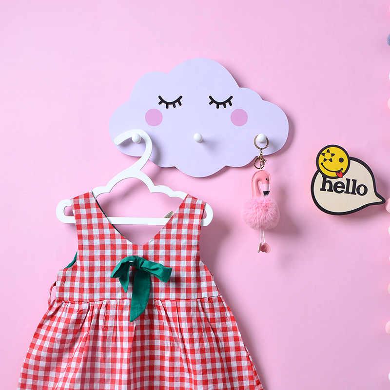 Stockage décoratif bonbons couleur étagère tenture murale nuage crochet étagère de rangement nordique chambre livre étagère maison enfants chambre décor cadeau