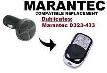 Marantec Command 131 Garage Door/Gate Remote Control Replacement/Duplicator Remote Control Key Fob 433.92mhz fixed code все цены