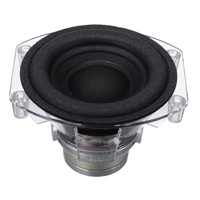 3 Inch Subwoofer Speaker Unit 30W 4Ohm DIY Sound Box Loudspeaker Stereo Subwoofer Speakers Strong Bass Horn Speaker