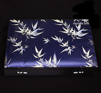 High Quality 8 Grid Wrist Watch Boxes Cases Silk Printed Counter Display Boxes Bangles Box Trinket