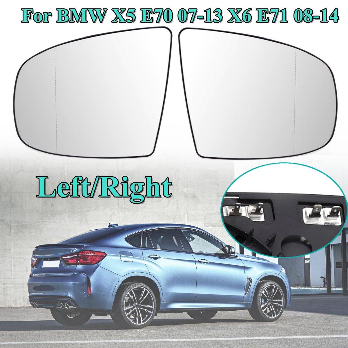Wing Door Heated Mirror Glass Side Electric Heated Wing Mirror Glass For BMW X5 E70 07 11 X6 E71 08 14