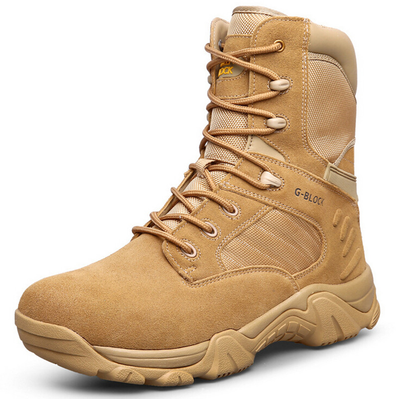 US Army Military Tactical Boots Men Desert Combat Boots Outdoor Shoes  Breathable Boots Sand EUR Size 40-46 38dfdd770e7f