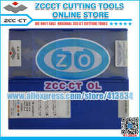 Free Shipping ZCCCT grooving & turning inserts ZTGD0404-MG YBG302 for steel and stainless steel semi-finish to rough manching