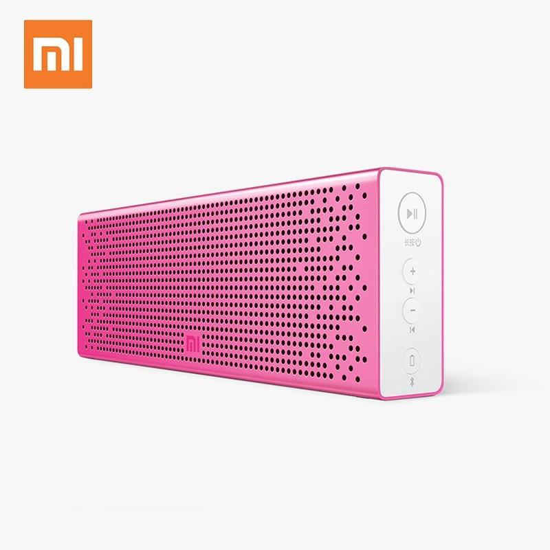 Xiaomi Mi Bluetooth Speaker English Version Stereo Wireless Mini Portable Bluetooth Speakers Music MP3 Player Support Handsfree xiaomi mi bluetooth speaker wireless stereo mini portable mp3 player pocket audio support handsfree tf card aux in original