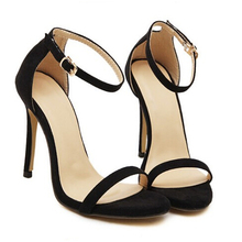 Brand name ZA R 2016 wedding sandals high heels pumps summer T-stage sexy wedding shoes for party sandals Peep toe Buckle trap