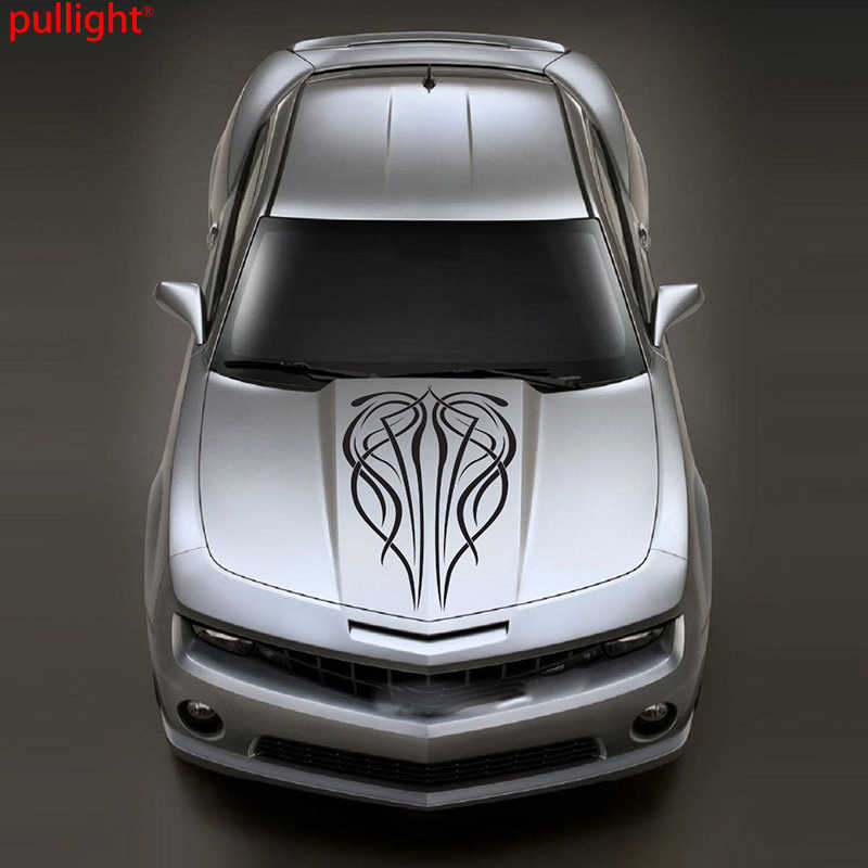 Classic Pinstripe Vinyl Decal Car Hood Sticker Car Van Truck Vehicle