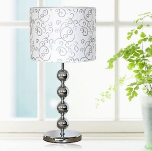 חדש מנורות שולחן תאורת מנורה/מנורה שליד המיטה/מנורת חדר שינה בד/מגע מתג zzp FG646-במנורות שולחן מתוך פנסים ותאורה באתר ssuper lights store Store