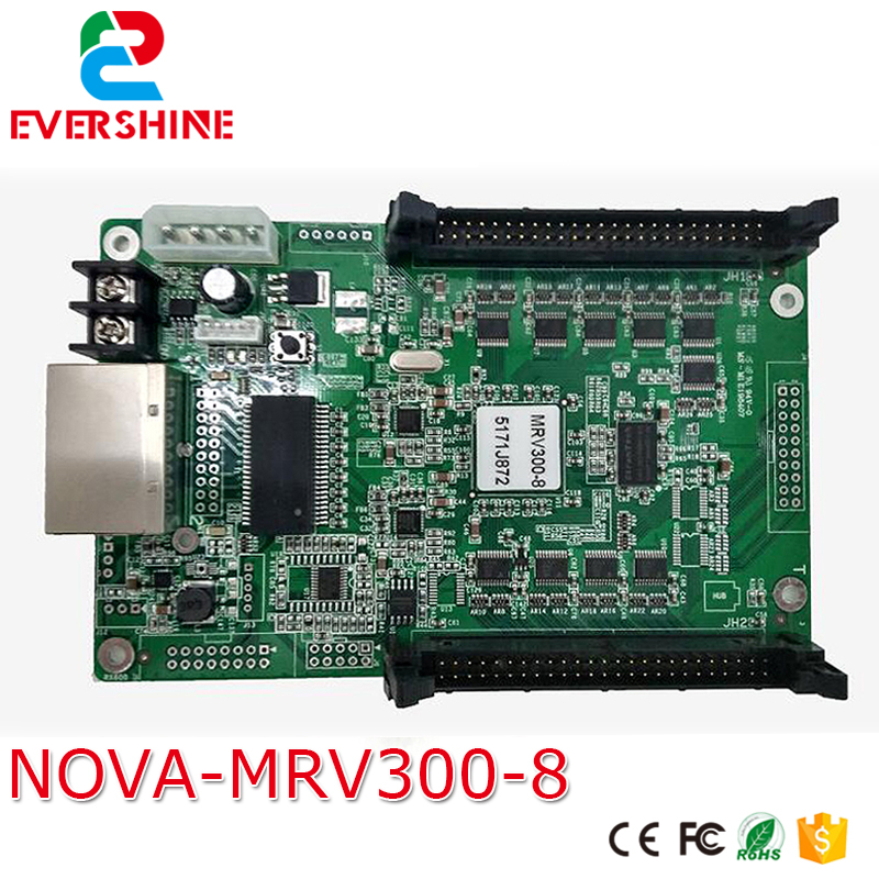 MRV300 Led Display receiving card full color led video display controller Mrv300-8 used for Outdoor and Indoor