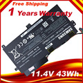 Nueva batería original del ordenador portátil 1588-3366 np450r5e para samsung aa-pbvn3ab np470 np51or5e np510r5e ba43-00358a np370r4e np510