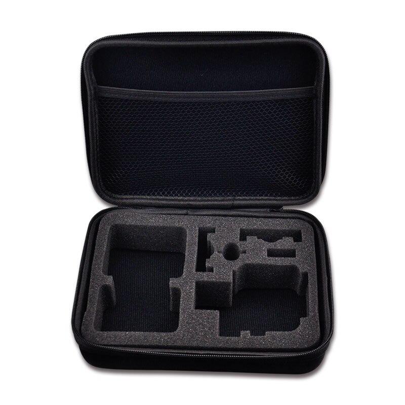 Voyage De Stockage collection sac Cas boîte Mi taille portable sac pour SJCAM SJ4000 SJ5000 EKEN H8 H8R H9 H9R H3R sport action caméra