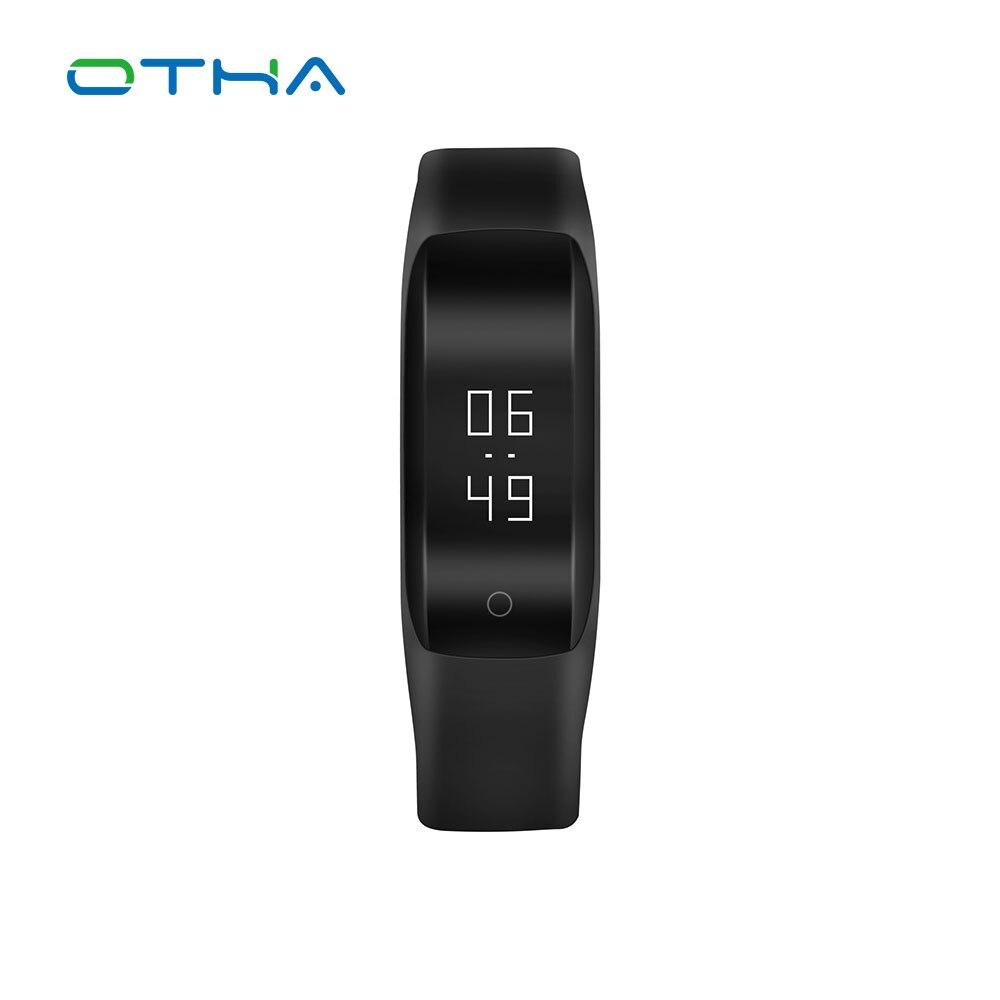 OTHA Fitness Tracker Smart Wristband Bluetooth 4 2 Sleep Monitor Sport Bracelet Smart Band For iOS