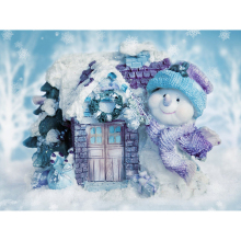 5D DIY diamond embroidery snowman house diamond painting Cross Stitch full square Rhinestone mosaic Christmas decoration diamond painting full square owl 5d diy diamond embroidery mosaic picture of rhinestone animal christmas decoration home