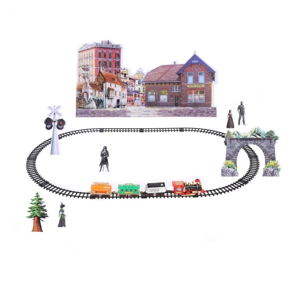 US $32 98 29% OFF|RC Electric Smoke Train Toy Remote Control Rechargeable  Model Vehicle Conveyance Car Steam Smoke Train Fun Baby kids Toys Gift-in