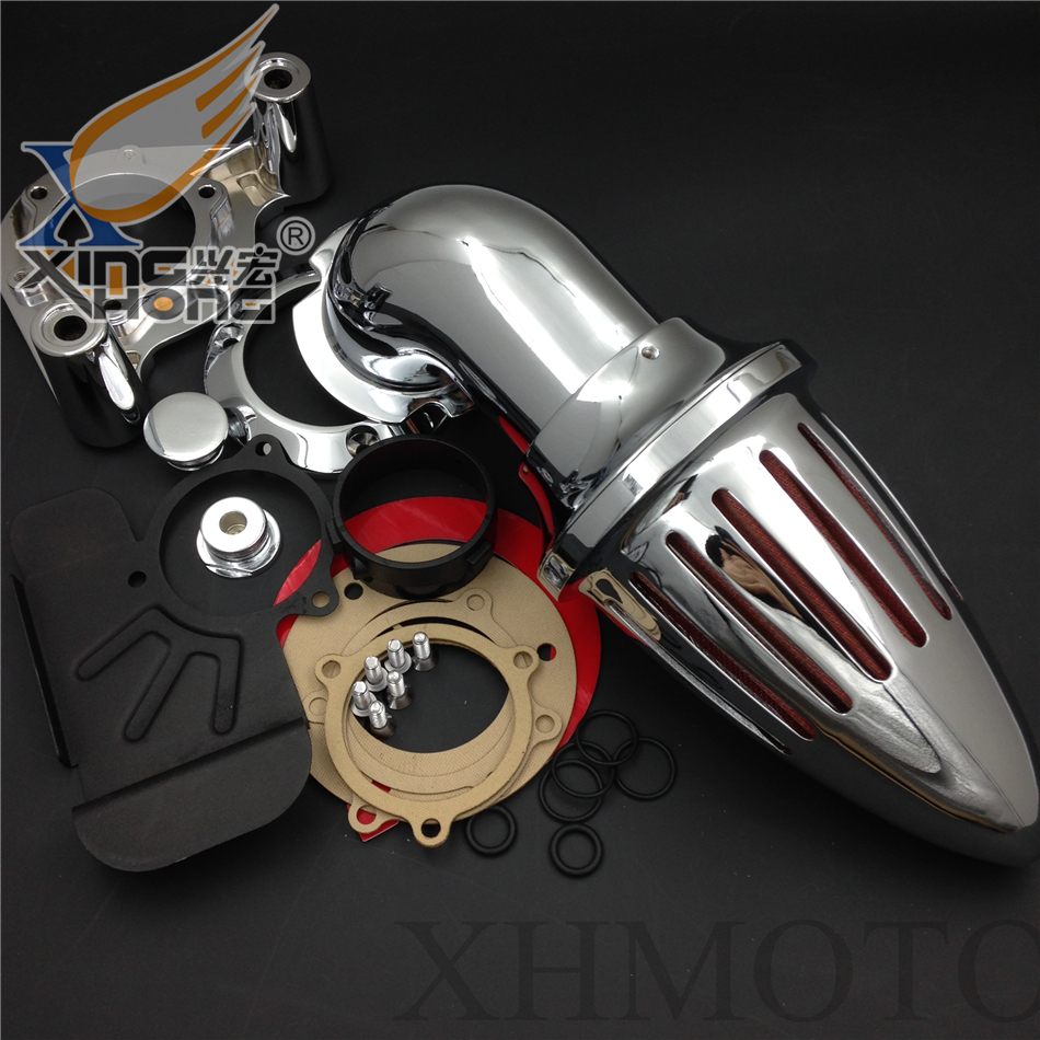 Aftermarket free shipping motorcycle parts Harley Dyna Electra Glide FLHX Road King Air Cleaner intake for