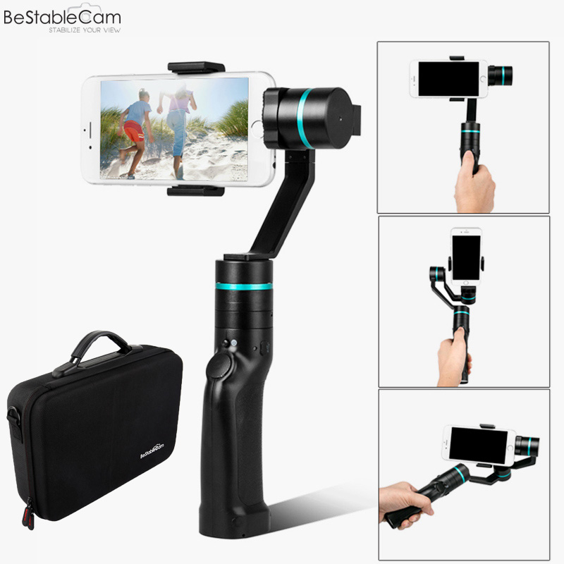 Free Express Shipping BeStableCam HF3 Brushless Smartphone Handheld Gimbal Stabilizer Selfie Mode for iPhone 6 plus vs Smooth C bestablecam h4 rtf brushless handheld encoder mirrorless digital camera gimbal gyro stabilizer for gh3 gh4 a7s nex5 bmpcc