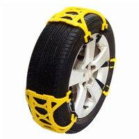 6Pcs/Set Universal Snow Chains trucks Car Tyre Winter Roadway Safety TPU Tire Chains Snow Climbing Mud Ground AntiSlip