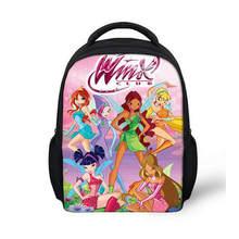 43f479477a6f 13 дюймов мультфильм Винкс клуб Бабочка Принцесса Детский рюкзак детский  сад школьная сумка Детский рюкзак с