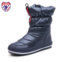 M GENERAL Women Snow Boots Female Winter Boots 2017 New Fashion Trends Waterproof Cloth All Match