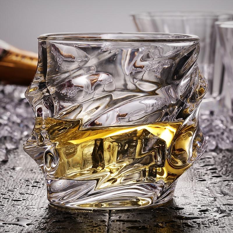 Творческие выгравированы Дизайн виски Очки 8 унц. пить пиво воды вино, коньяк vodka Bar  ...