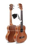 Финлей 27 Электрический Тенор укулеле инструмент с Полный красного дерева Топ/тело, 26 ukelele с пикап тюнер