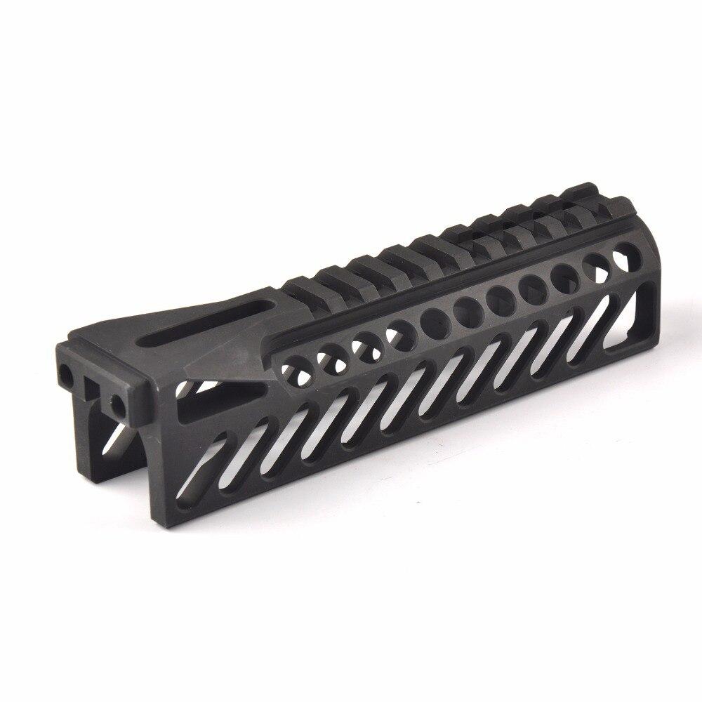 6.5นิ้วยุทธวิธีปืนรถไฟระบบGripExtend PicatinnyรถไฟHandguardปกคลุมสำหรับAK47 b10ปืนไรเฟิลขอบเขตล่าสัตว์ยิง
