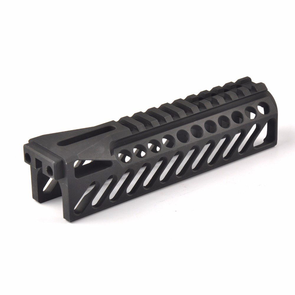 6.5 Inch Tactical Gun Rail System GripExtend Picatinny Rail Handguard Cover for AK47 b10 Rifle Scopes Hunting Shooting hunting picatinny rail 4 25 inch handguard rail cqb tactical rail systems for aeg m4 m16