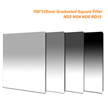 100mm x 145mm Graduated ND2 ND4 ND8 ND16 Neutral Density 100*145mm Graduated Square Filter for Lee Cokin Z series