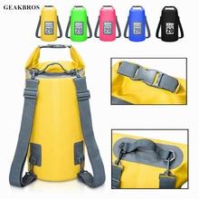 5L/10L/15L/20L/30L Swimming Waterproof Bags Storage Dry Sack Bag For Canoe Kayak Rafting Outdoor Sport Bags Travel Kit Equipment