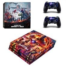 The Avengers Infinity War PS4 Pro Skin Sticker Vinyl Decal