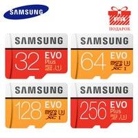 Original SAMSUNG Memory Card Cartao De Memoria 128GB 256GB 32GB 64GB Micro SD Class 10 Mikro